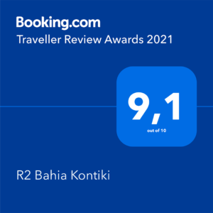 Booking bahia kontiki award